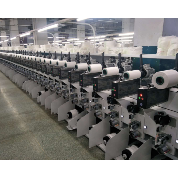 Single Spindel Soft Winding Machine