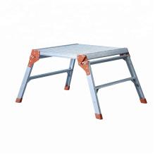 Escalera telescópica de aluminio, banco de trabajo de aluminio con certificado EN131 hecho en China.