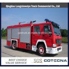 Sinotruk HOWO 8000L Water-Foam Fire Truck