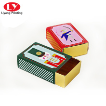Custom Made Matchbox Style Gift Packaging Box