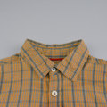 Boys Orange  Short Sleeve Check Pocket Shirts