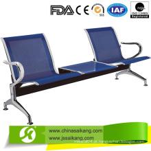 Cadeira de espera durável de 3 lugares em aço inoxidável (CE / FDA / ISO)