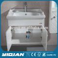 Gabinete de banheiro de PVC impermeável em Hangzhou Wall de plástico suspenso Gabinete de parede de banheiro de PVC moderno