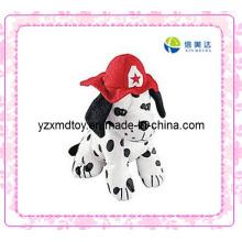 Dalmatians da peluche com chapéu do fogo