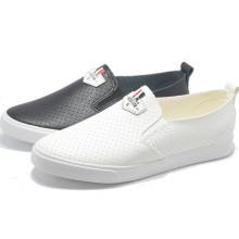 Atmungsaktivität Leder Heißer Verkauf Freizeit Student Frauen Männer Gummi Schuhe
