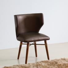(СП-HC585) Оптовая кожаный деревянная нога Луи обеденный стул ресторан