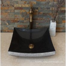 G684 fuding black granite sink