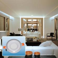 Lumière ronde de panneau de la couleur LED d'aluminium / LED