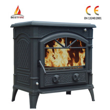 14kw Cast Iron Stove with Boiler