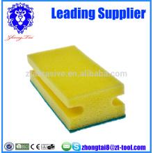 esponja abrasiva de limpieza doméstica
