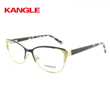 2018 new fashion metal optical eyeglasses frame for girls