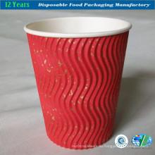 Высокое качество пульсации чашки стены для горячего питья