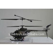 3 CH Hughes Defender Radio Fernbedienung Hubschrauber mit Kamera RC Hubschrauber