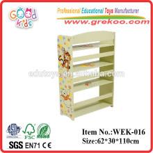 2014 new wooden book shelf for children ,popular wooden book shelf for preschool ,hot sale book shelf for preschool