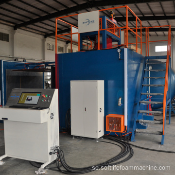 Helautomatisk vakuum Quadrate Foaming Mold Machine