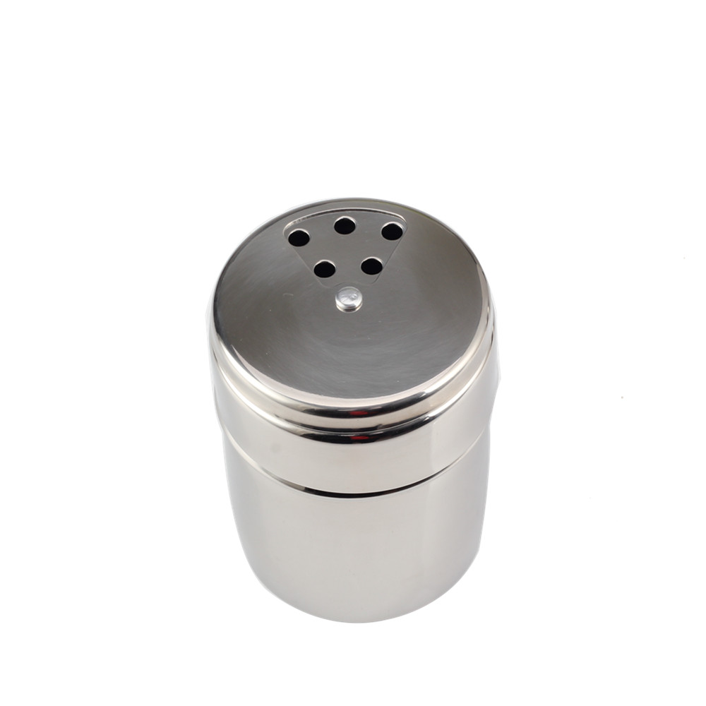 Multi Functional Food Grade Stainless Steel Salt Shaker