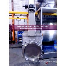 Válvula de porta operada da faca da engrenagem cónica para a indústria do tratamento da água