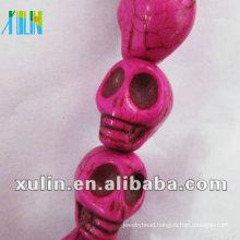 Turquoise Skull beads wholesales LTQ027