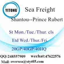 Shantou Port Sea Freight Shipping To Prince Rubert