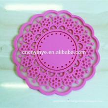 Kundenspezifische Logo Tee Tasse Untersetzer, Sublimation Tischsets und Untersetzer, PVC-Tasse Matte