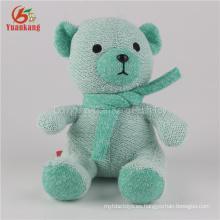 Mini oso de peluche al por mayor de la fábrica de ICTI SEDEX, fábrica al por mayor del oso de peluche de la felpa, juguetes coloridos del oso de peluche