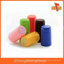 Customizável adulteração evidente colorido plástico envoltório garrafa selo
