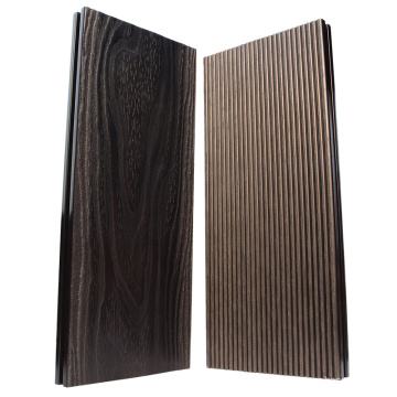 Chinese coffee untislip durable hollow wpc decking