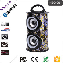 BBQ KBQ-06M 10W 1200mAh CE Certificate Portable Wireless Surround Sound MP3 Music Speaker