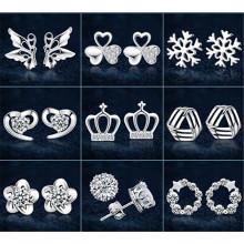 2015 fashion jewelry stud earring cheap earring wholesale