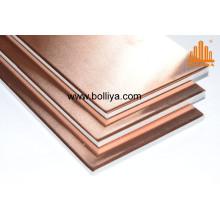 Copper Composite Door Cladding