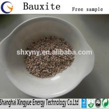 Refractory 60%-90% Al2O3 calcined bauxite low bauxite price