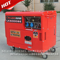 5kw diesel silent generator set price with CE and GS certification