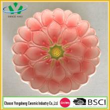 2015 Flower Design Dolomite cerâmica prato para decoração de casa