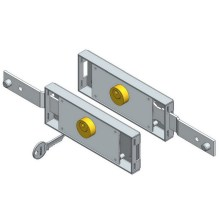 Latch Shifted Shutter Shutter Door Lock