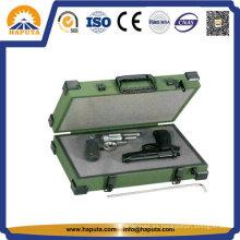 Espuma Interior pequeña limpieza pistola pistola caja de aluminio (HG-5001)