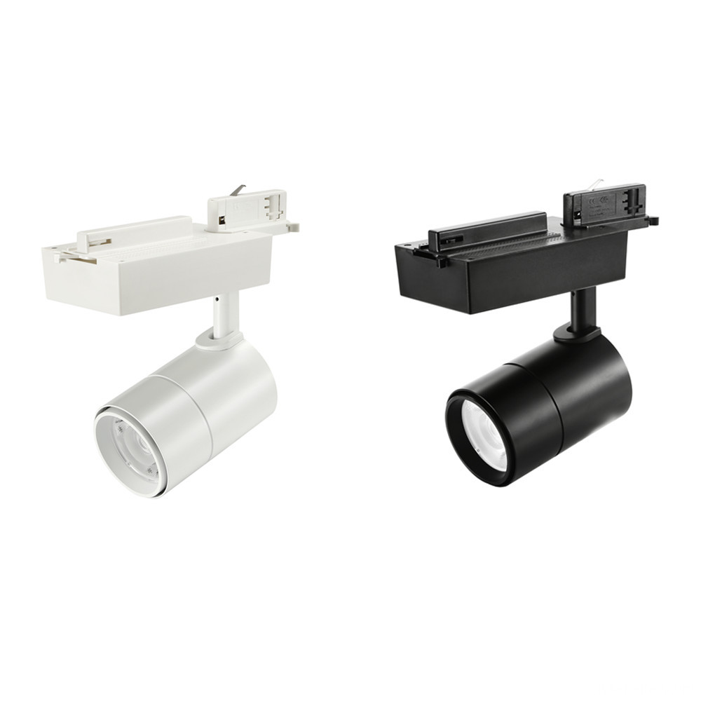 30W LED Track Lights White and Black