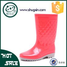 дамы сад дождь ботинки женщин плоские ботинки дождя