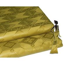 Remise Knit Personnalisé Jacquard Brocart Tissu Alibaba Stock Prix Bazin Riche Nigeria Style