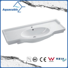 Banheiro semi-embutido Banheiro lavatório lavatório lavatório de mão (ACB4212)