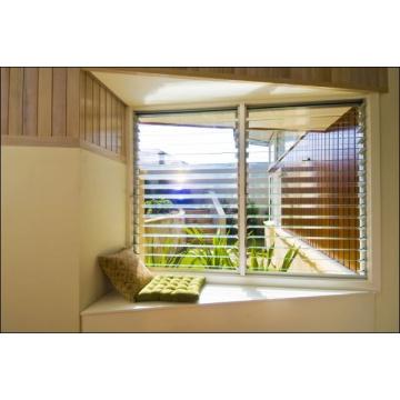 Vidrio de la puerta interior, paneles decorativos de la cerca, panel de cristal / persianas de cristal