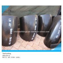 Nahtlose Sch40 Kurze Radius Rohrverschraubungen Carbon Steel Elbow