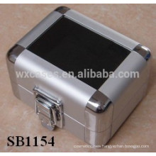 aluminum watch packaging with clear acrylic show top for single watch