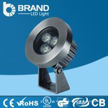 China Preço de Fábrica DMX RGB 3W LED Underwater Light