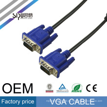 SIPU high quality male to male with gold connector wholesale computer audio video cable vga price best cable vga 8m