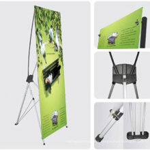 New design roll up vertical banner X stand made in China