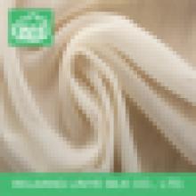 Tecido de poliéster respirável de design mais recente, tecido de tuleleira