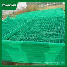 10 Years FACTORY!! DECORATIVE PVC COATED WIRE FENCING