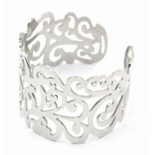 Bracelet ouvert en acier inoxydable de mode en gros