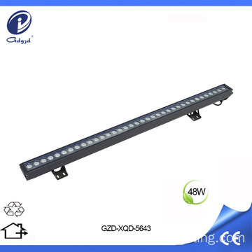Bañador de pared LED blanco cálido de 48W