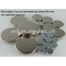 Disk Magnets for Microwave Communication